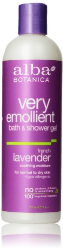 Alba Botanica Body Bath, French Lavender, 12 Fl Oz