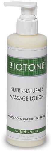 BIOTONE Nutri-Naturals Massage Lotion - 8 oz by BIOTONE
