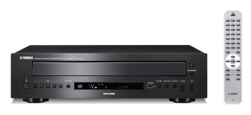 Yamaha CD-C600BL 5-Disc CD Changer (Black)