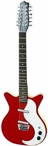 Danelectro DC59 12-String Guitar Red