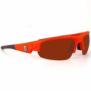 Detroit Tigers ORANGE Dynasty Maxx HD Sunglasses by Detroit Athletic Co
