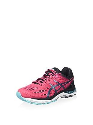 Asics Zapatillas de Running Gel-Pursue 2 (Frambuesa / Negro / Azul Celeste)