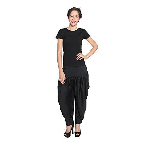 Women's Dhoti Salwar ,Black,