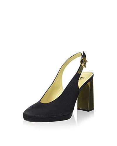 Farrutx Zapatos de talón abierto Pedra-2 Negro
