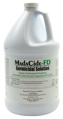 (1 Gallon) MadaCide Disinfectant Cleaner FD Element Tattoo Supply Available in 1 Quare w/ Spray Top or 1 Gallon by Element Tattoo Supply
