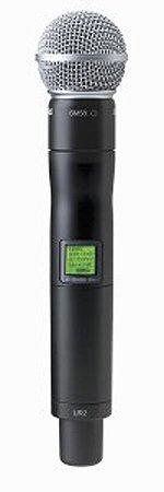 Shure Ur2/Sm58 Ur2 Handheld Transmitter With Sm58 Cardioid Microphone Uhf-R Series