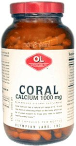 Coral Calcium, 1000 mg, 270 Capsules by Olympian Labs Inc.