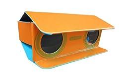 Ajax Scientific Paper Binoculars, 3X Magnification, 25 mm Lenses Diameter