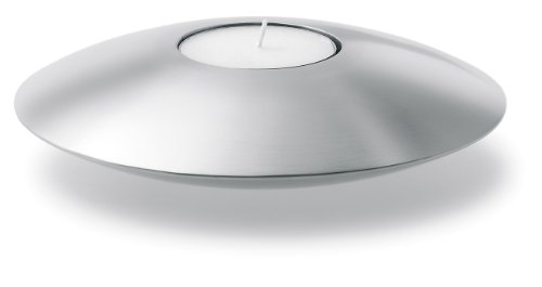Blomus 65051 17.5 Cm Ribera Collection Tealight Holder Saucer Shape
