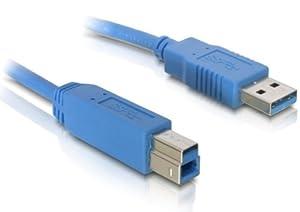 DELOCK Kabel USB 3.0 A-B St/St 1.0m