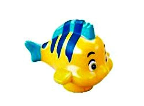 Lego-Disney-Flounder-Fish-Minifig-Minifigure-Loose-From-Little-Mermaid