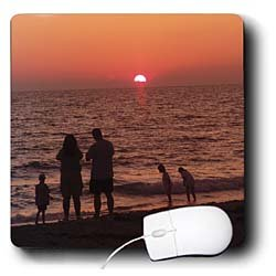 Florene Sunset - Vacation - Mouse Pads