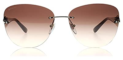 Bvlgari 6072B 278/13 Tortoise 6072B Rimless Sunglasses Lens Category 3