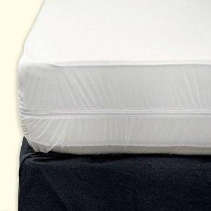 Sultan's Linens Zippered Fabric Mattress Cover, Queen Size