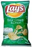 【12個入り】USレイズポテトチップスサワークリームオニオン味 184.2g 0028400017015