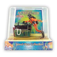 Action Air® Treasure Chest & Diver Live-Action Aerating Aquarium Ornament