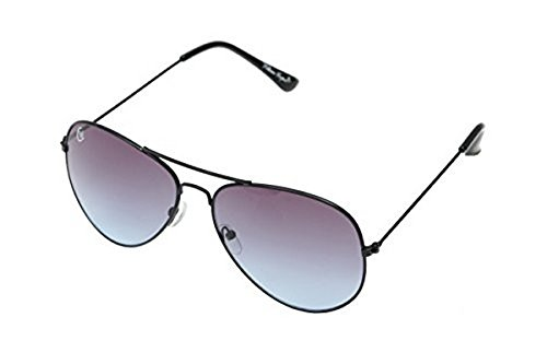 William Cooper Aviator Sunglasses (Black) (WCX-7032-C7)