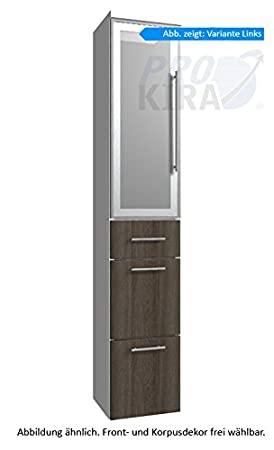 Classic Line Puris (HNA093B7ML / R Tall Cupboard Bathroom Cupboard 30 CM