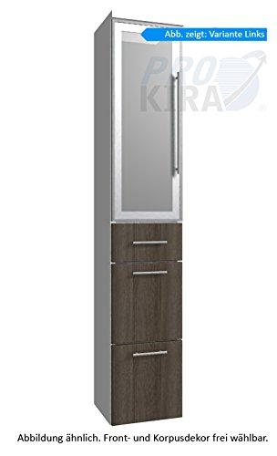 Classic Line Puris alto armadio (HNA093B7ML/R) mobile da bagno, 30 cm