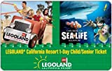 LEGOLAND California Resort 1-Day Hopper Ticket Card - Child