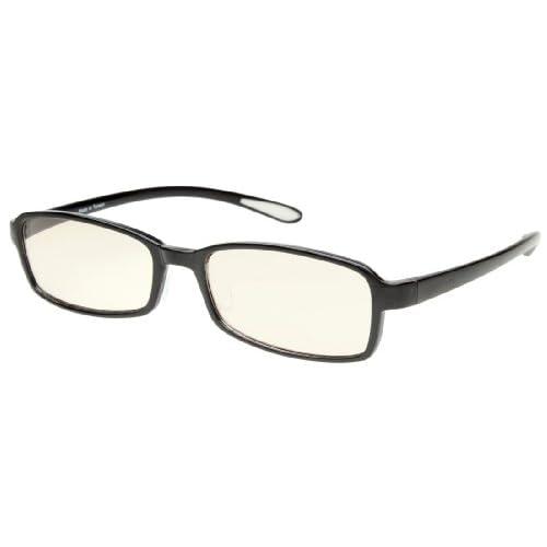 エニックス Sweeteye メラニングラス 老眼鏡度数 +1.50 プラム ブラック