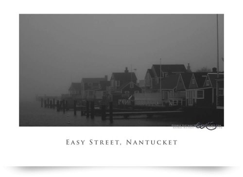 Easy Street Basin, Nantucket (Giclee Art Print), George Riethof back-951583