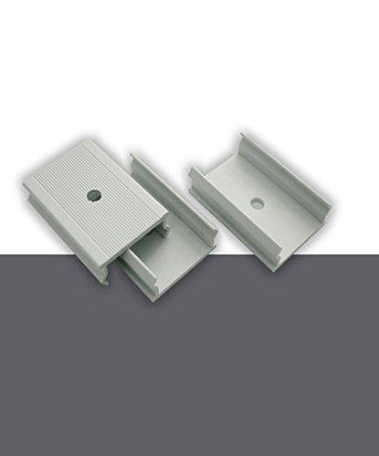 decosa befestigungsklipse zu klipsprofil 3 st ck pro. Black Bedroom Furniture Sets. Home Design Ideas