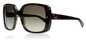 Dior 086 Tortoise Jupon1 Square Sunglasses Lens Category 3