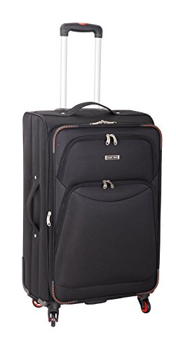 super-lightweight-4-wheel-spinner-luggage-suitcase-travel-trolley-cases-x-large-32-black