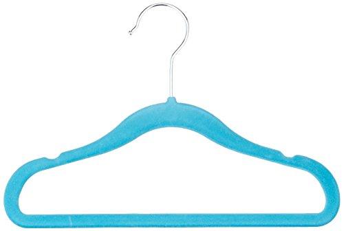 amazonbasics-grucce-in-velluto-per-bambini-30-pezzi-colore-blu-a-tinta-unita