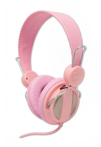 Syba Cl-Aud63024 Syba Over The Ear Circumaural Headphone With 3.5Mm Lady Pink Connector