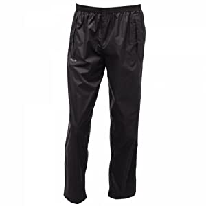 Regatta Men's Stormbreak Waterproof Over Trousers - Black, Medium