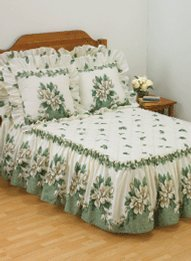 Sweet Magnolia Bedspread Collection - Full Bedspread