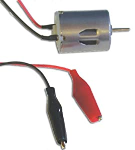 Mini DC Motor with Leads from Ginsberg Scientific