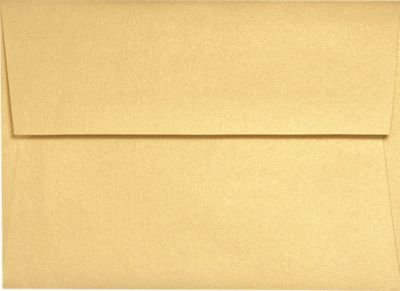 A9 Metallic Envelopes 6 x 9 envelopes booklet open side envelopes 50 pack
