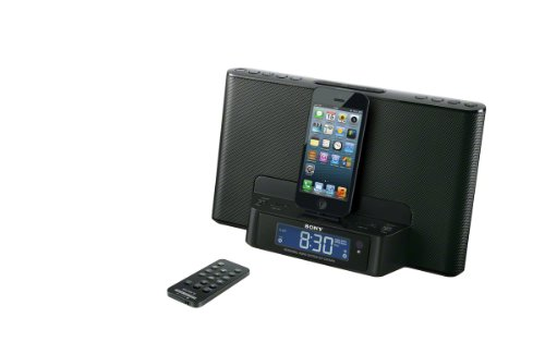 sony station d 39 accueil avec radio r veil compatible iphone. Black Bedroom Furniture Sets. Home Design Ideas