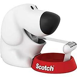 Scotch Magic Tape Dispenser - Scotch Dog & 2 Tape Refills