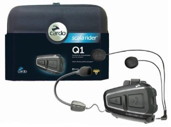 Cardo - Scala Rider Q1 Single - Intercom Bluetooth Headset Black Friday & Cyber Monday 2014