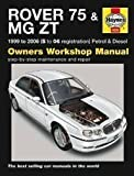 Rover 75 and MG ZT Petrol and Diesel Service and Repair Manual: 1999 to 2006 (Haynes Service and Repair Manuals) by Jex. R. M. ( 2006 ) Hardcover