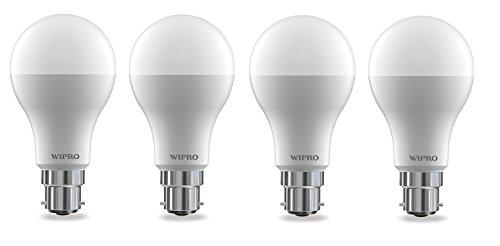 Wipro Garnet 12W B22 LED Bulb (Warm White, Pack Of 4) Image
