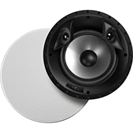 Polk Audio 8-inch Two-Way Surround in Ceiling RT Series Speaker - 80F/X-RT