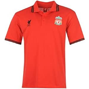 Source Lab Liverpool Polo Shirt Mens Red Small