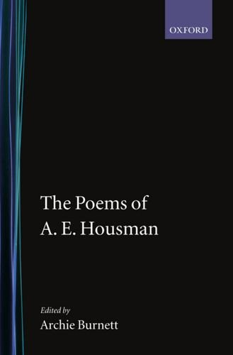 the poetry of a e housman essay