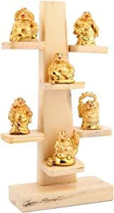 JaipurCrafts Laughing Buddha Statue Showpiece 30.48 cm