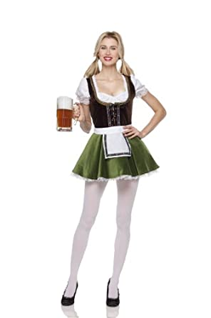 Mystery House Costumes Bavarian Girl, Multi, Small