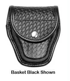 Bianchi Accumold Elite Hidden Snap 7917 Double Cuff Case (Basketweave Black)