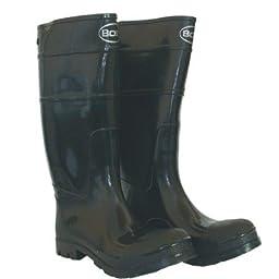 Boss 2KP200111 Men\'s Black Rubber Boot
