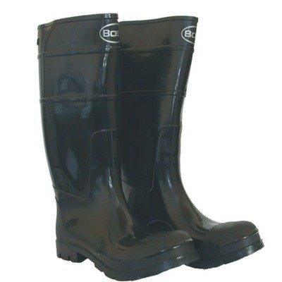 Boss 2KP200113 Men's Black Rubber Boots, Size 13 image
