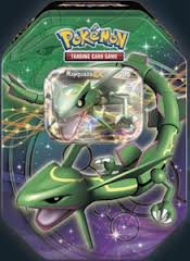 2012 Pokemon Dragons Exalted Rayquaza-EX Legendary Collector's Tin - Pokemon Black & White
