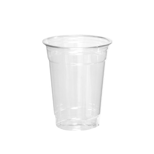 Party Essentials Soft Plastic 14-Ounce Party Cups, Clear, 40 Count - 1